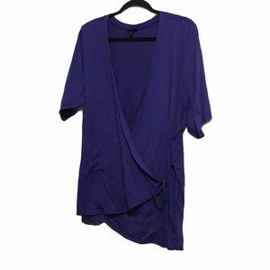 Torrid Casual Violet Top